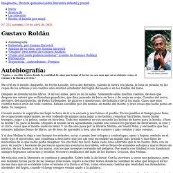 Gustavo Roldán : Autobiografìa