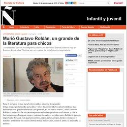 Murió Gustavo Roldán, un grande de la literatura para chicos