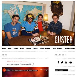 Guster Official Site