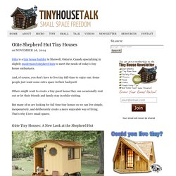 Güte Shepherd Hut Tiny Houses
