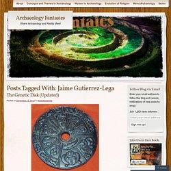 El asombroso disco genético precolombino de Jaime Gutierrez-Lega