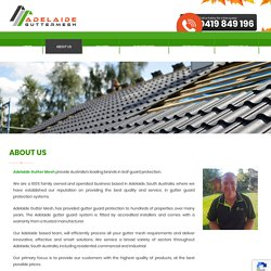 Gutter Guard Specialists Adelaide