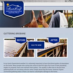 Professional Gutter Repair and Replacement Services