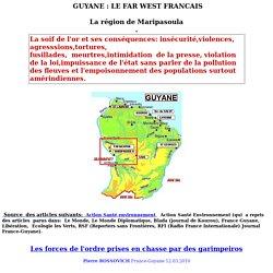 Infos sur la Guyane et les amérindiens wayanas.