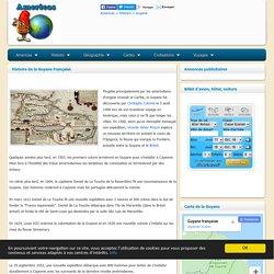 Guyane : Histoire de la Guyane Française