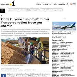 Or de Guyane : un projet minier franco-canadien trace son chemin