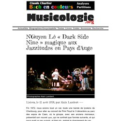 N'Guyen Lê «Dark Side Nine» magique aux Jazzitudes en Pays d'Auge