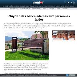 Guyon : des bancs adaptés aux personnes âgées - 13/01/17