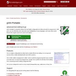 gVim Portable