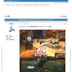 GW2Navi Guild Wars 2 Overlay