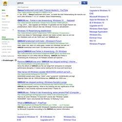 gwxux - WEB.DE - Web-Suche