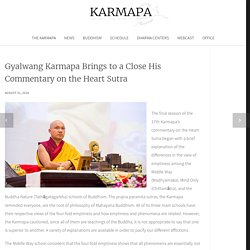 Gyalwang Karmapa Brings to a Close His Commentary on the Heart Sutra