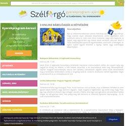 3 online bábelőadás a hétvégére - gyerekprogramok, gyerekprogram, gyerekprogramok hétvégére, gyerekkel Budapesten - Szélforgó - gyerekprogramok, gyerekprogramok Budapest, gyerekprogram, gyerekkel Budapesten, hétvégi