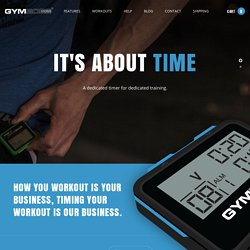 Interval Timer, Gymboss Timer, Interval Timer