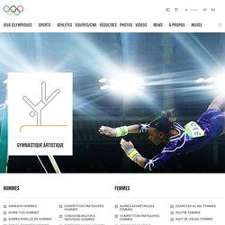 Gymnastique artistique - sport olympique d'été