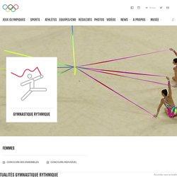 Gymnastique rythmique - sport olympique d'été