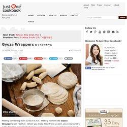 Gyoza Wrappers