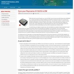 Gyro pour Raymarine S1/S2/S3 à 25€