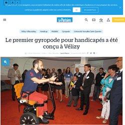 Le premier gyropode pour handicapés a été conçu à Vélizy - le Parisien