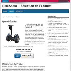 Gyropode Gambler – RiskAssur – Sélection de Produits