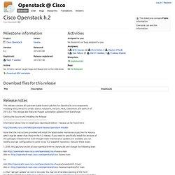 h.2 : Cisco Openstack