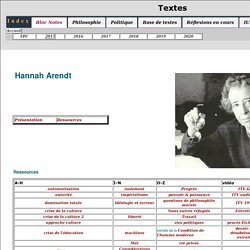H Arendt