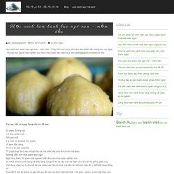 Học cách làm bánh bao ngô non - mềm dẻo