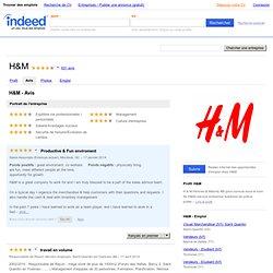 H&M - Avis