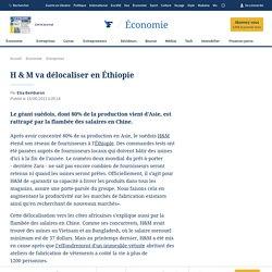 H & M va délocaliser en Éthiopie