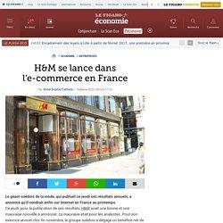 H&M se lance dans l'e-commerce en France