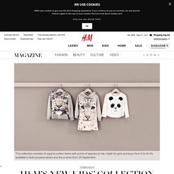 H&M's new kid's collection has a cause