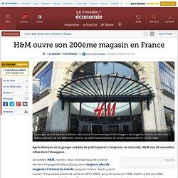 H&M ouvre son 200ème magasin en France