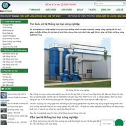 Hệ thống lọc bụi công nghiệp, lọc bụi không khí