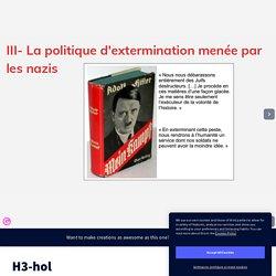 H3-hol par guyonpas sur Genially