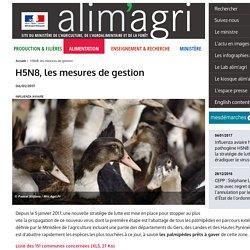 MAAF 06/01/17 H5N8, les mesures de gestion