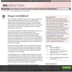 Haagse werkelijkheid
