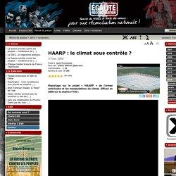 HAARP : le climat sous contrôle