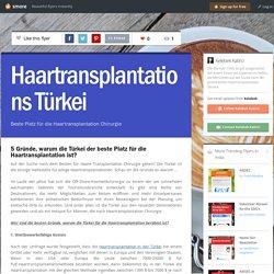 5 Gründe, warum die Türkei der beste Platz für die Haartransplantation ist?