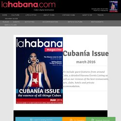 La Habana Magazine - including What's On Havana