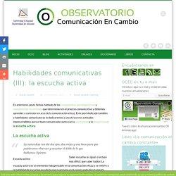 Habilidades comunicativas: la escucha activa