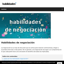 □ Habilidades de negociación【habilidades.top】