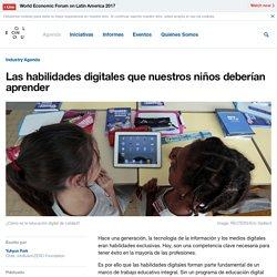 Las habilidades digitales que nuestros niños deberían aprender