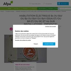 Habilitation électrique B1, B1V, B2, B2V, BR, BE essais, BC, H0 : travaux et interventions pour électriciens - formation continue