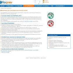Forprev : les habilitations des dispositifs de formation démultipliée SST