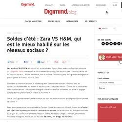 Les soldes : Zara VS H&M, qui est le mieux habillé sur les réseaux sociaux ?
