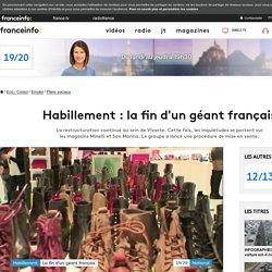 Habillement : la fin d'un géant français