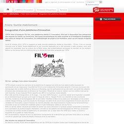 Filière Textile-Habillement : Inauguration d'une plateforme d'innovation
