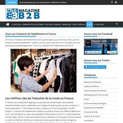 Industrie de l'habillement en France: chiffres et perspectives