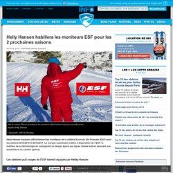 Helly Hansen habillera les moniteurs ESF pour les 2 prochaines saisons