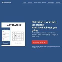 Habit Tracker for Printout
